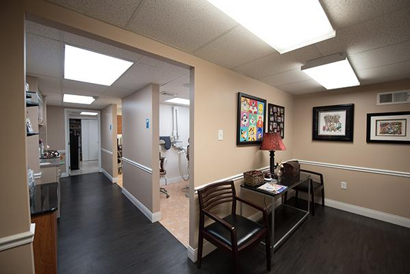 Dentist in Philadelphia Hallway Wide