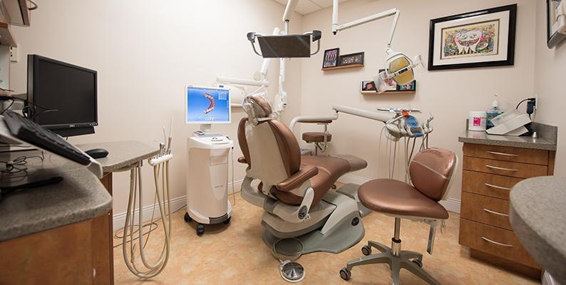 Dentist in Philadelphia Treatment Room
