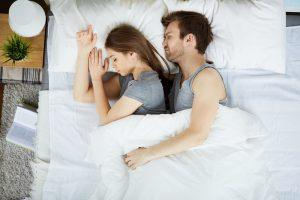 sleeping couple 1 300x200 - Philadelphia Dentist Offers CPAP-Free Sleep Apnea Treatment